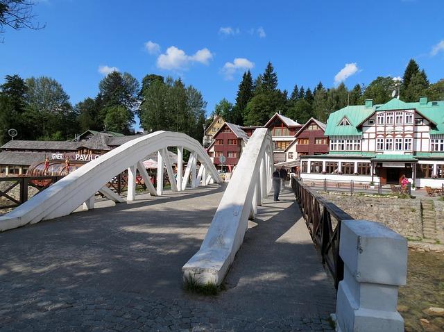 Volksarchitectuur in Špindlerův Mlýn