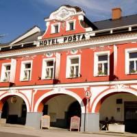 Hotel Pošta Sobotka, Sobotka, Boheems Paradijs