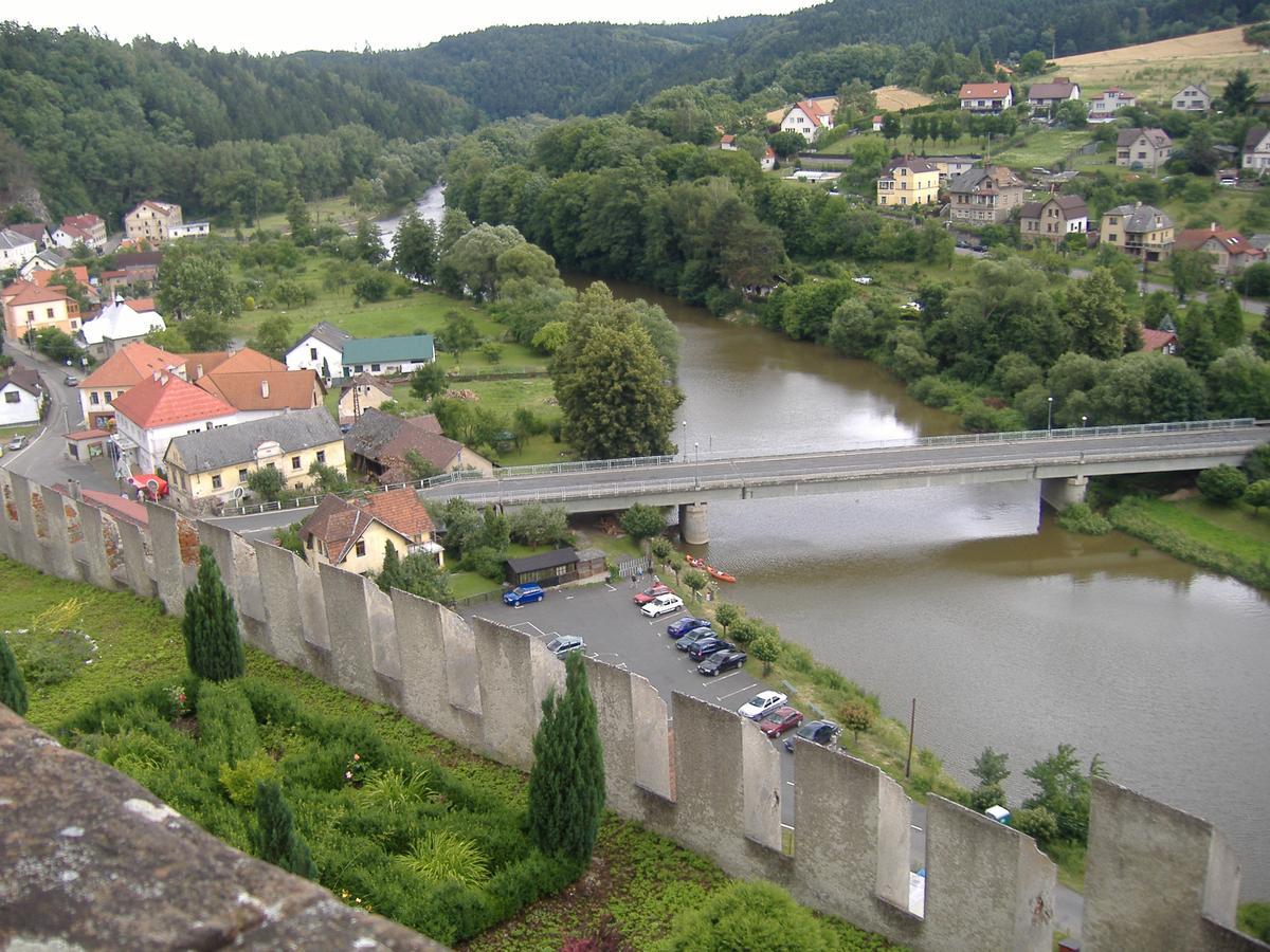 Český  Šternberk - hrad zrcadlení