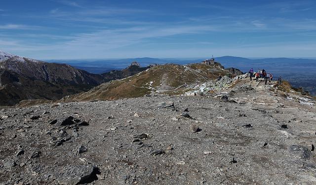 Kasprowy Wierch in de Hoge Tatra
