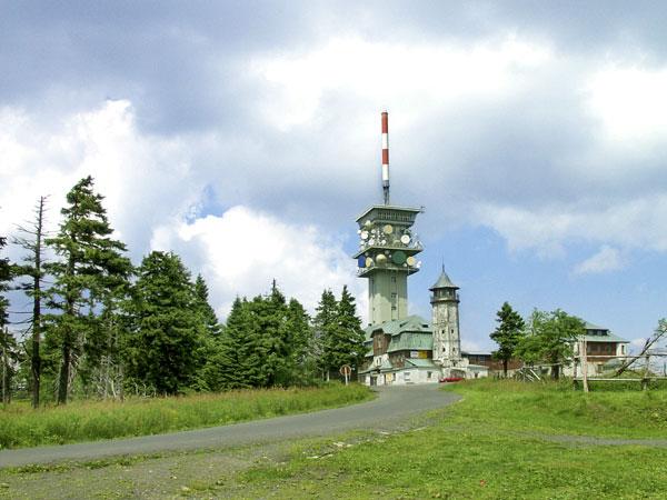 uitzichttoren Klinovec