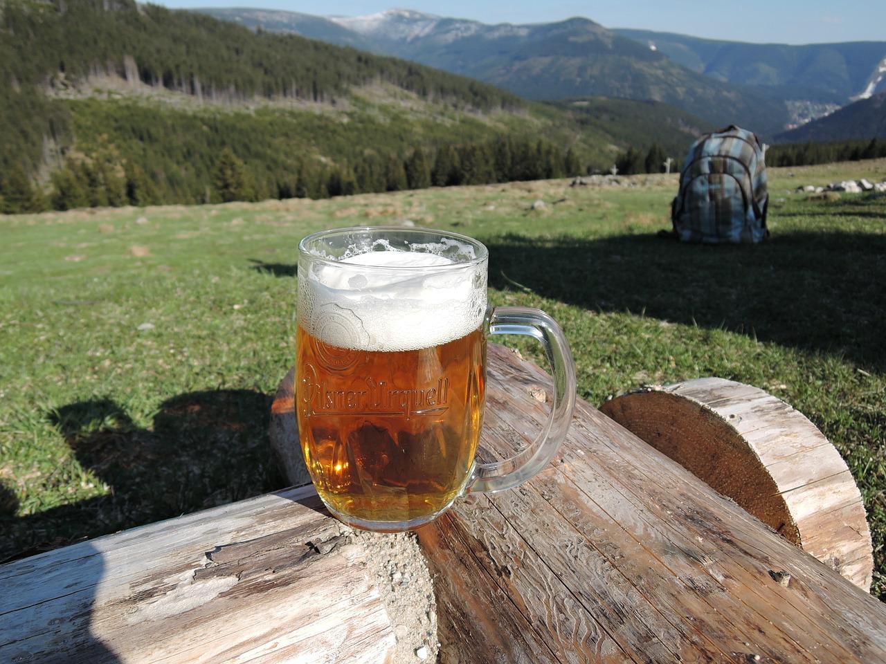 Biertje Reuzengebergte