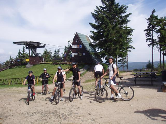 Mountainbiken in het Reuzengebergte