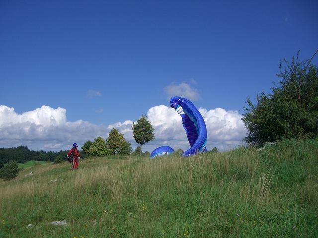 Paragliding cursus