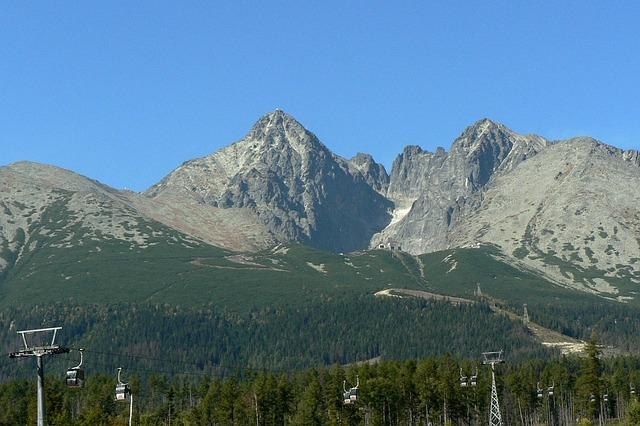 Stoeltjeslift in de Hoge Tatra