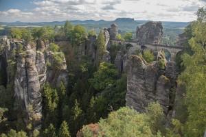 De Bastei in Saksisch Zwitserland