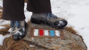 De routes in het Reuzengebergte liggen in de winter onder een dikke laag sneeuw verscholen.
