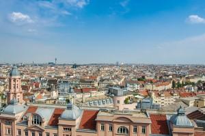 Panorama van Wenen