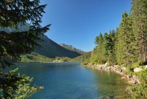 Bergmeer in de Hoge Tatra