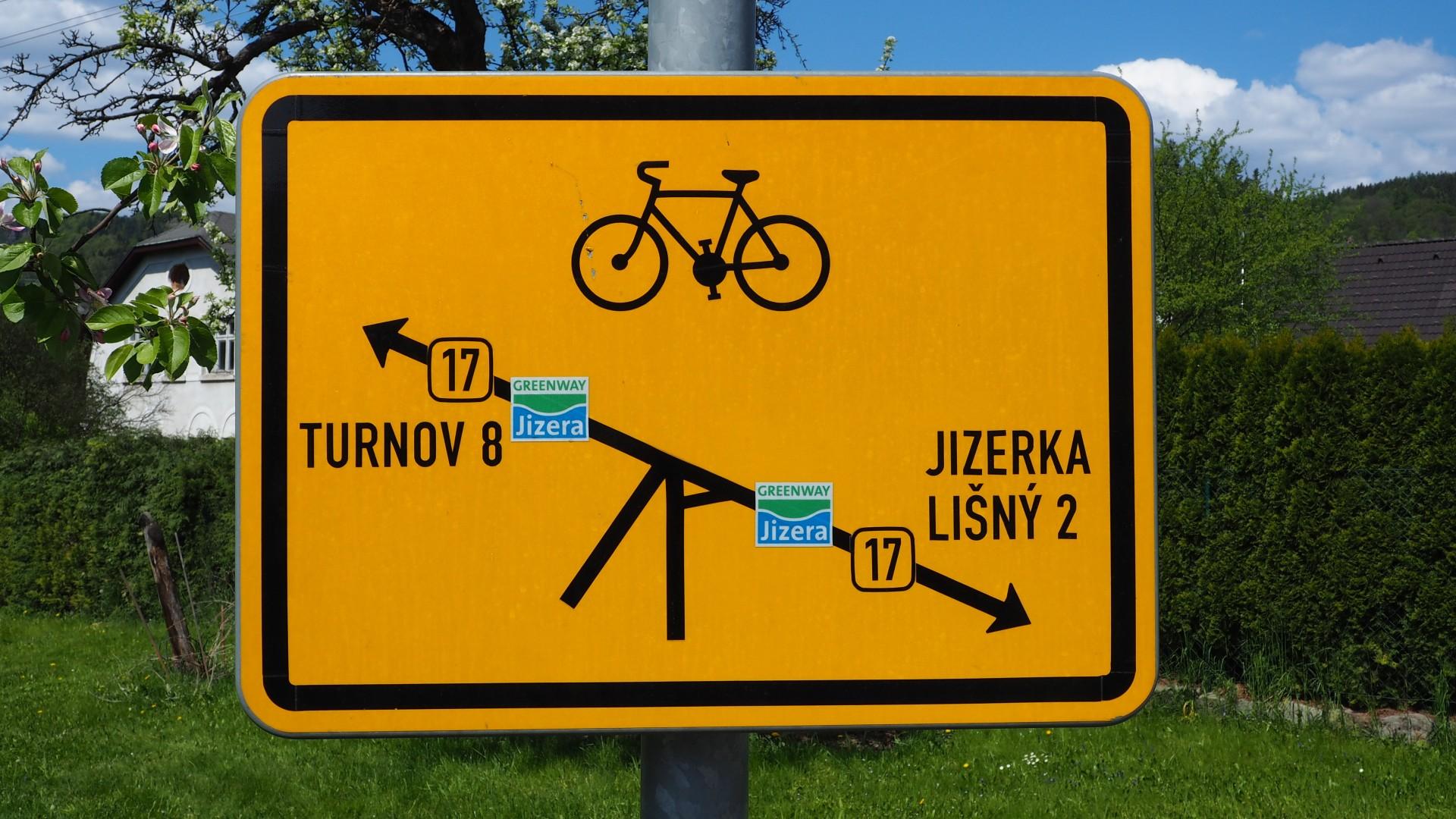 Gouden fietsroute door het Boheems Paradijs
