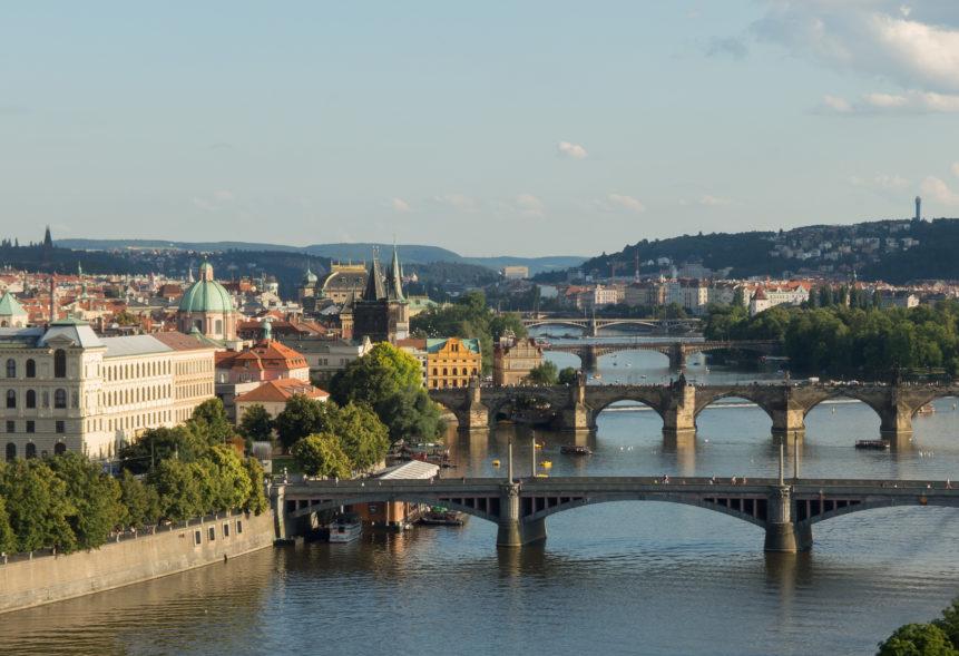 Fietsen van de bron van de Elbe naar Praag