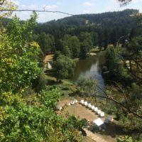 Soběšín Sazava vallei