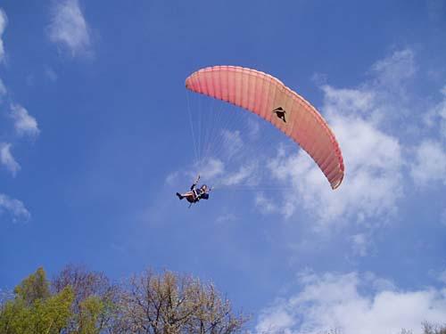 Paragliden tandemvlucht